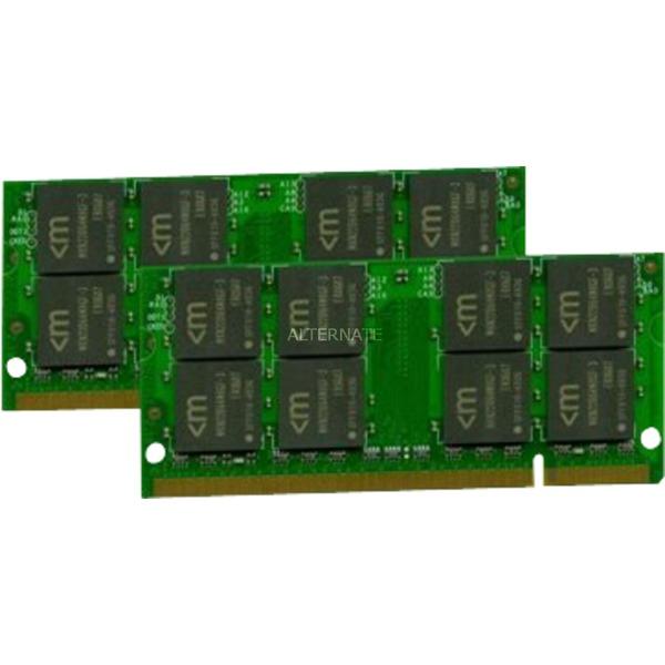 Memoria RAM Mushkin 2x2GB DDR2 SODIMM PC2-5300 4GB DDR2 667MHz