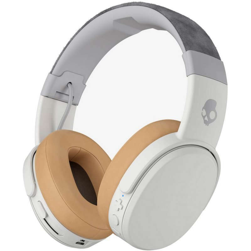 Auriculares Skullcandy Crusher Wireless con Micrófono Blanco/Marrón