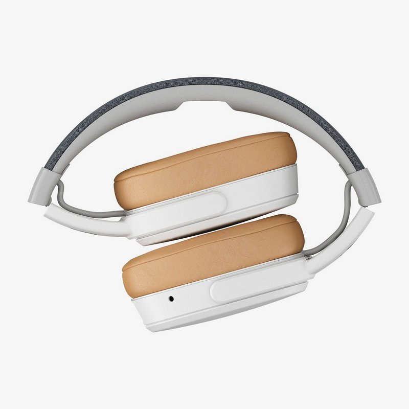 Auriculares Skullcandy Crusher Wireless con Micrófono Blanco/Marrón
