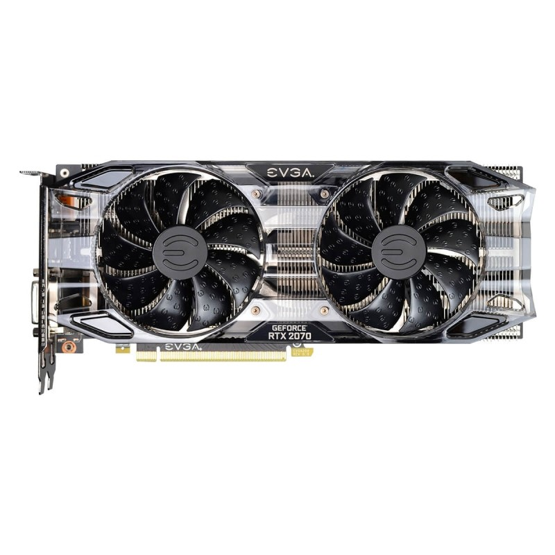 Tarjeta Gráfica EVGA GeForce RTX 2070 BLACK EDITION GAMING 8GB GDDR6