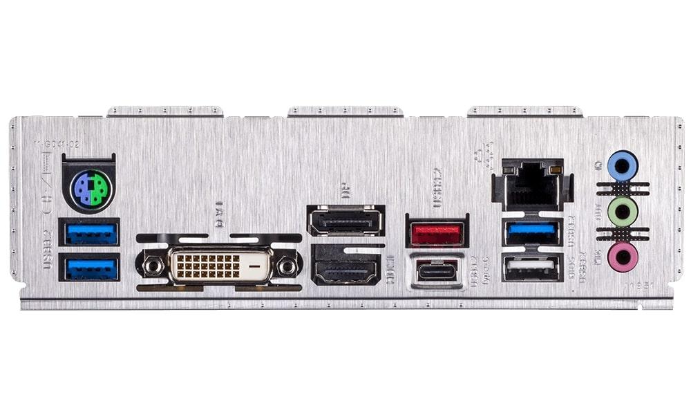 Placa Base GIGABYTE Z490M Rev 1.0 - LGA1200