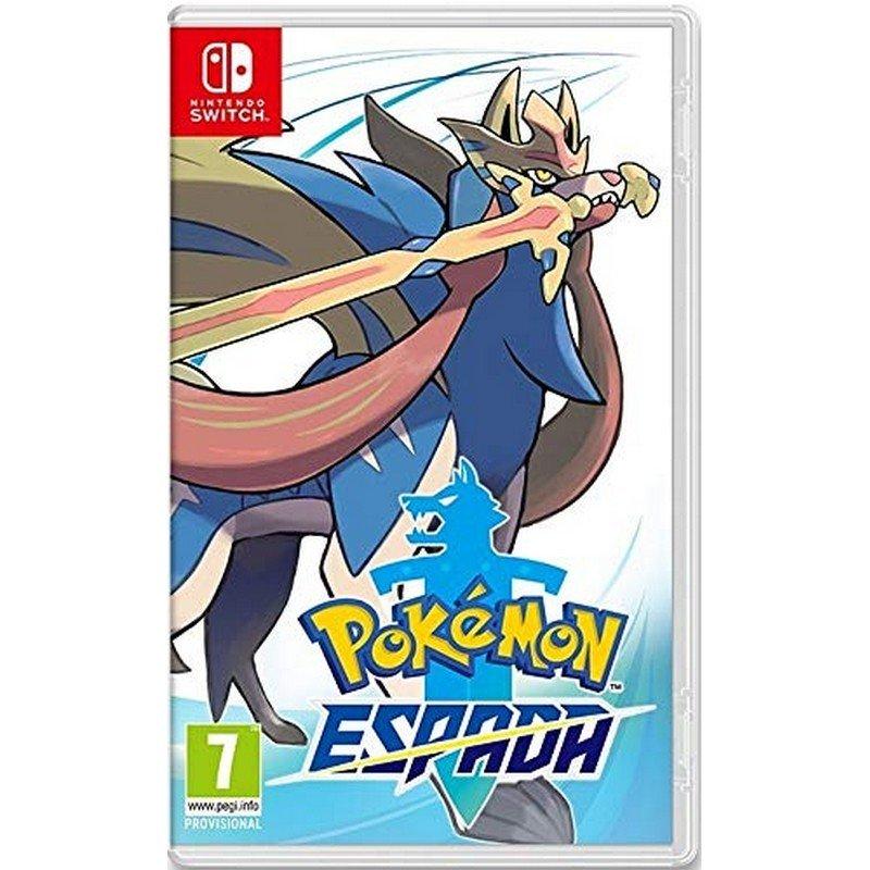 Nintendo Switch Juego Pokemon Espada
