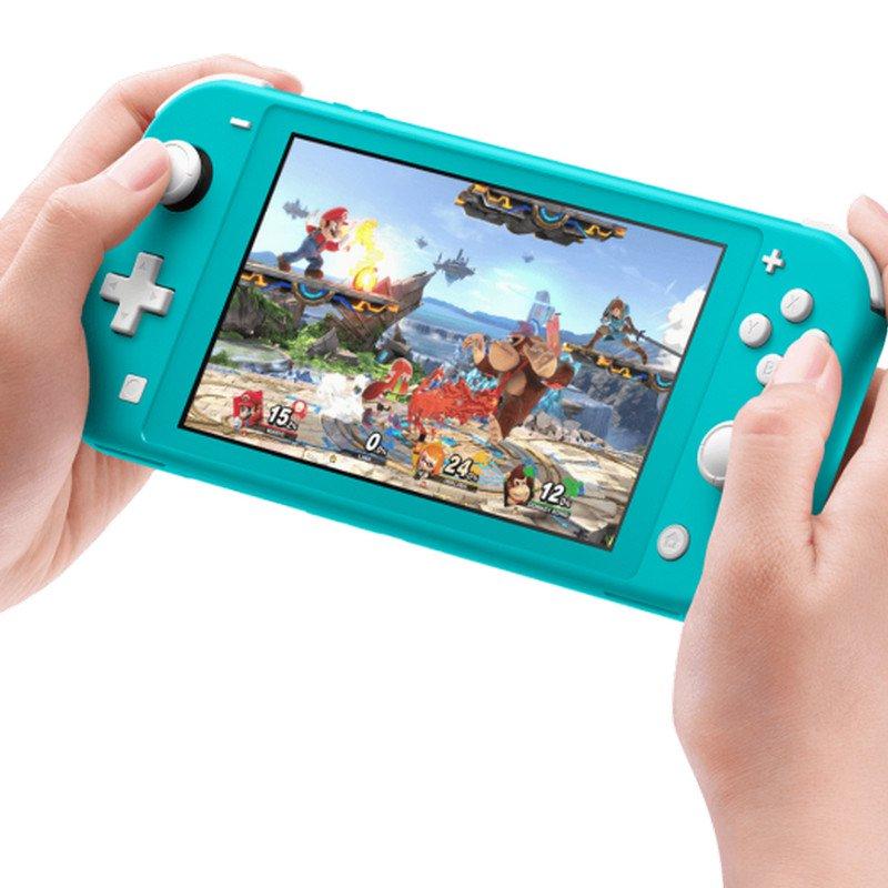 Nintendo Switch Lite Azul Turquesa + Pokemon Escudo