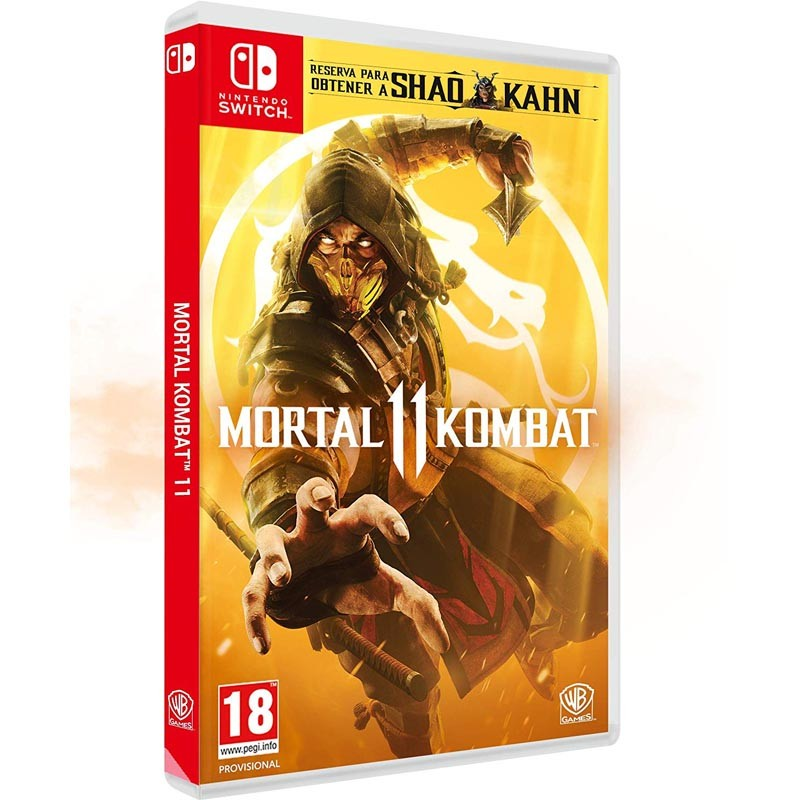 Nintendo Switch Juego Mortal Kombat 11
