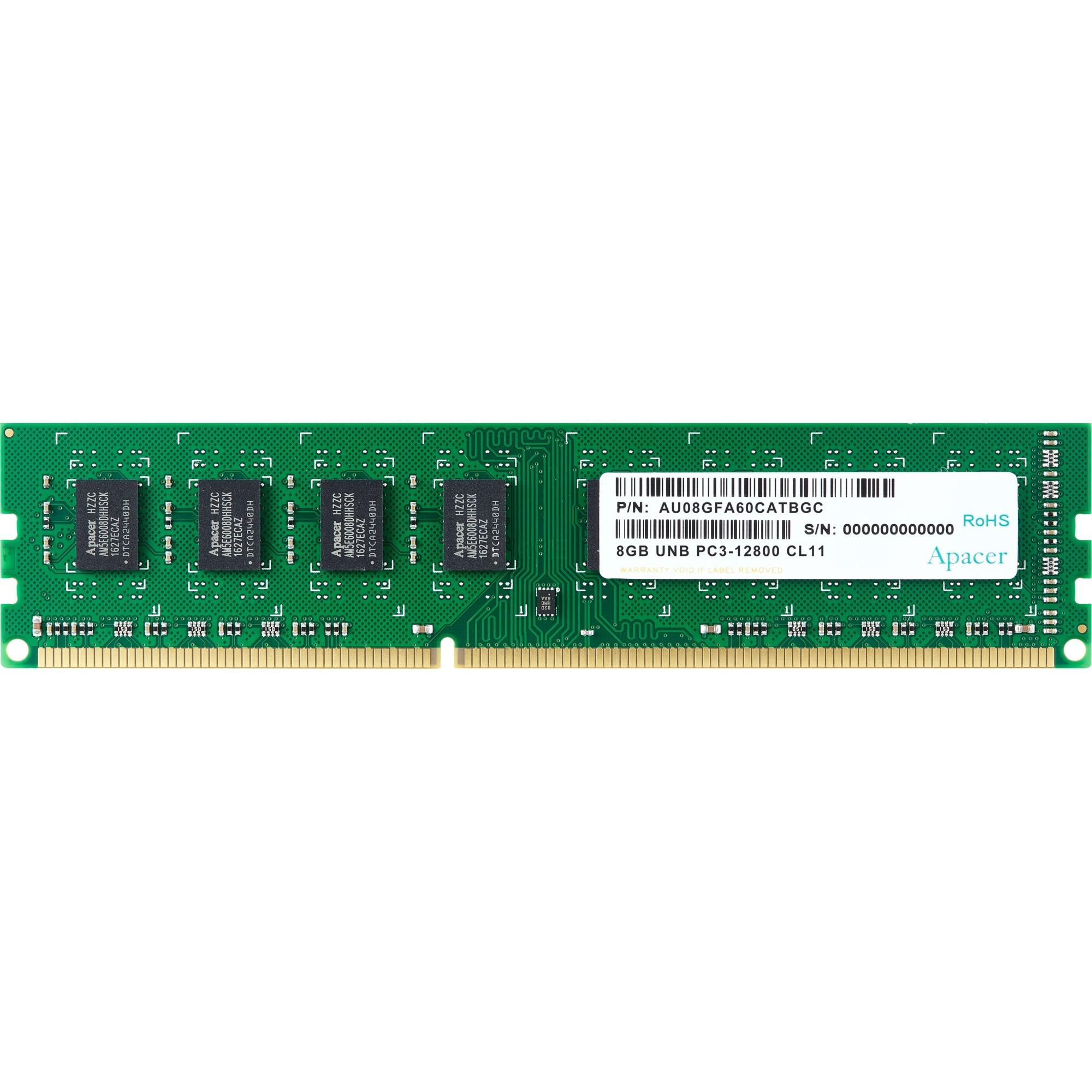 Memoria RAM Apacer AU08GFA60CATBGC DDR3 1600MHz