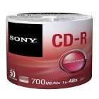CD-R 48x 700MB Sony Pack 50 uds