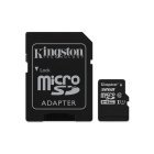 Tarjeta MicroSDHC 32GB Clase 10 UHS-I Kingston Canvas Select 80 MB/s - c/adapt
