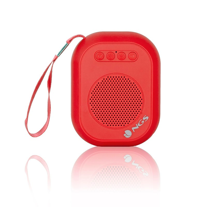 Altavoz Bluetooth NGS Roller Dice Red