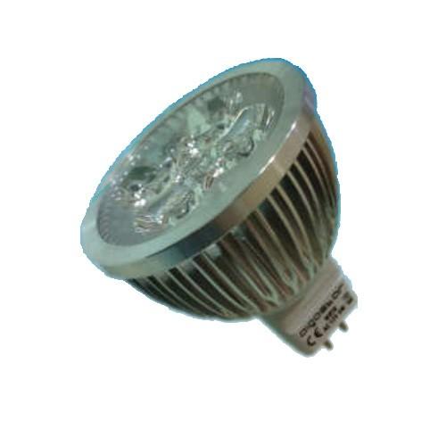 Foco led bajo consumo 4w 35w 12v mr16 6400k - Halogenos led bajo consumo ...