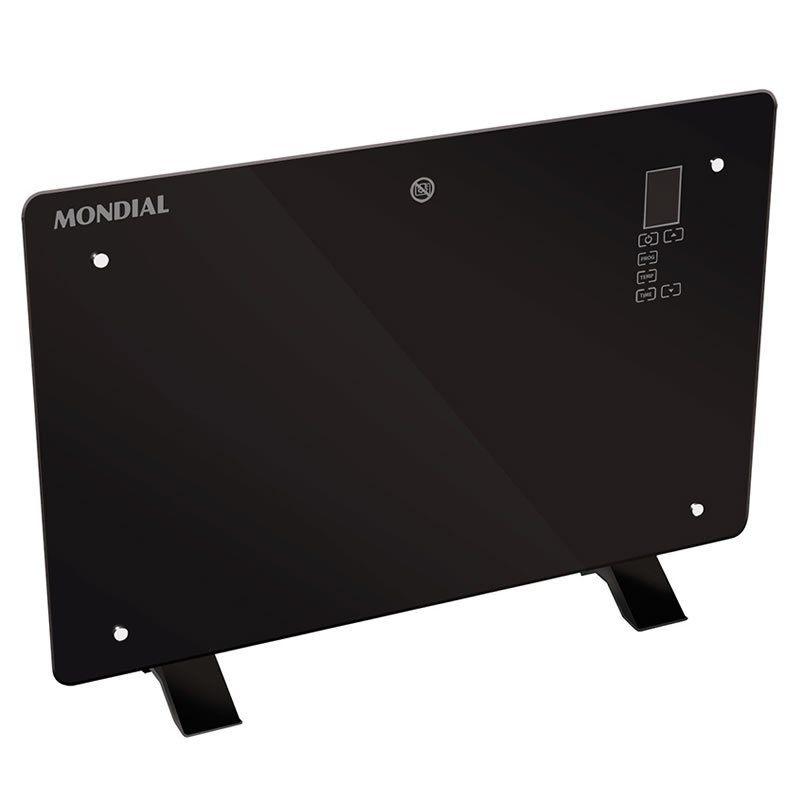 Panel Radiante Mondial A13 Glass Heater 1300W Negro