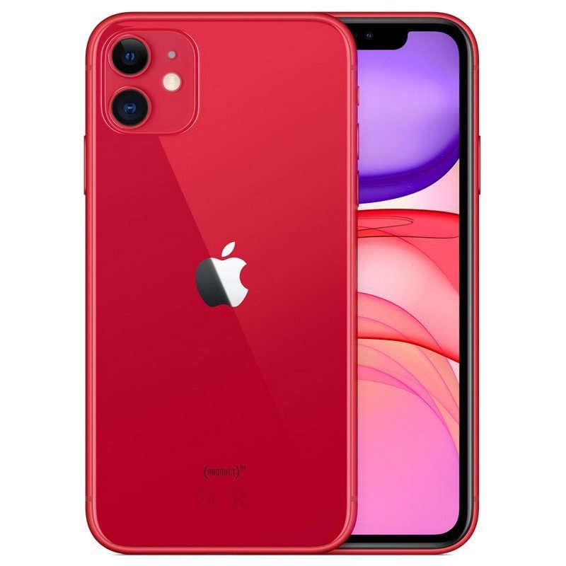 Apple iPhone 11 64GB Rojo - MHDD3QL/A