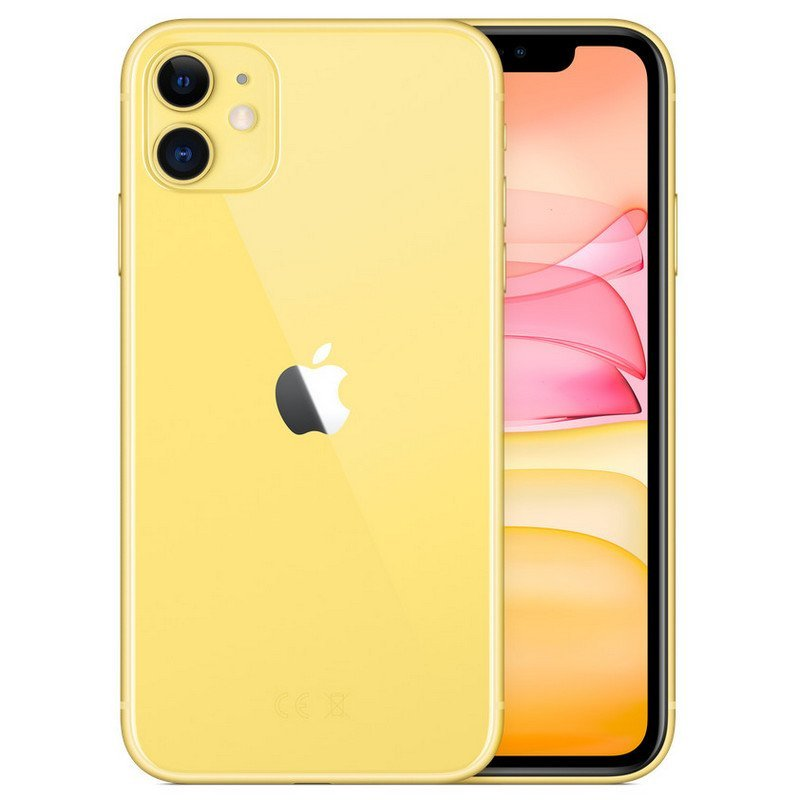 Apple iPhone 11 64GB Amarillo - MHDE3QL/A