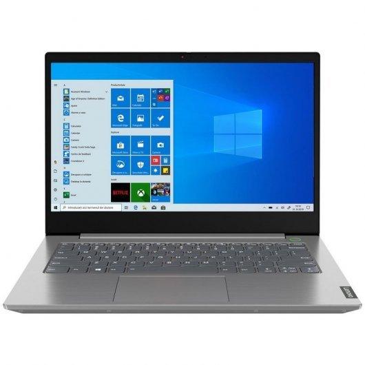 Portátil Lenovo ThinkBook 14 IIL I3-1005G1 8GB 256GB SSD W10P 14