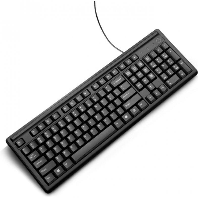 Teclado USB HP 100 Negro