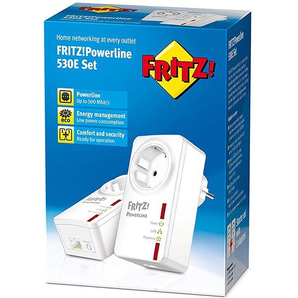 Kit PowerLine AVM FRITZ!Powerline 530E Set