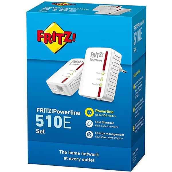 Kit PowerLine AVM FRITZ!Powerline 510E Set