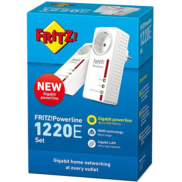 Kit PowerLine AVM FRITZ!Powerline 1220E
