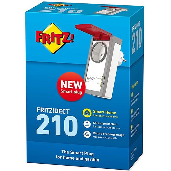 Enchufe Inteligente WiFi AVM FRITZ!DECT 210 Protección IP 44