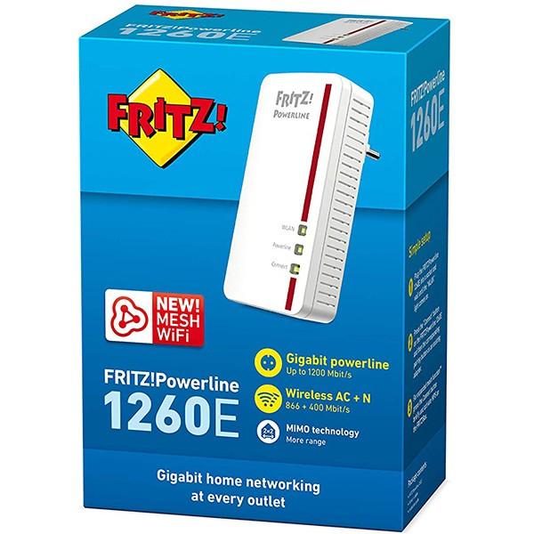 PLC WiFi AVM FRITZ!Powerline 1260E WLAN