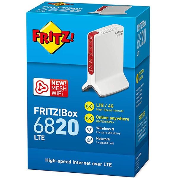 Router Wifi LTE 4G AVM FRITZ!Box6820 N450