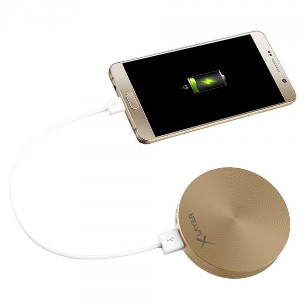 PowerBank XLayer PLUS Fashion Gold 6000mAh