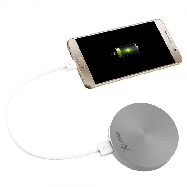 PowerBank XLayer PLUS Fashion Silver 6000mAh