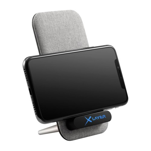 Cargador Inductivo XLayer Wireless Charger Desktop 10W Light Grey