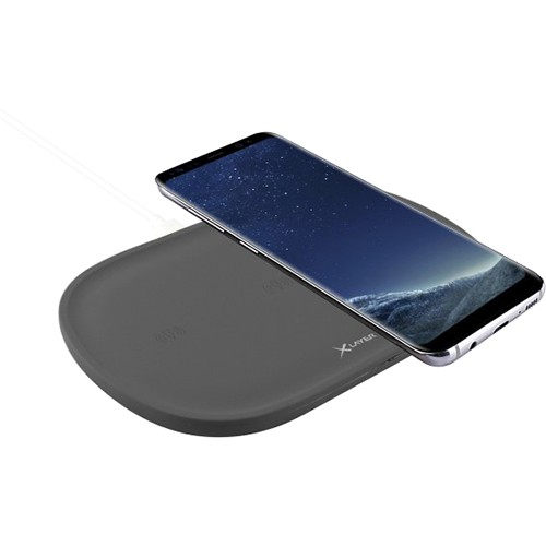 Cargador Inductivo XLayer Wireless Charging Pad Family Triple Anthracite
