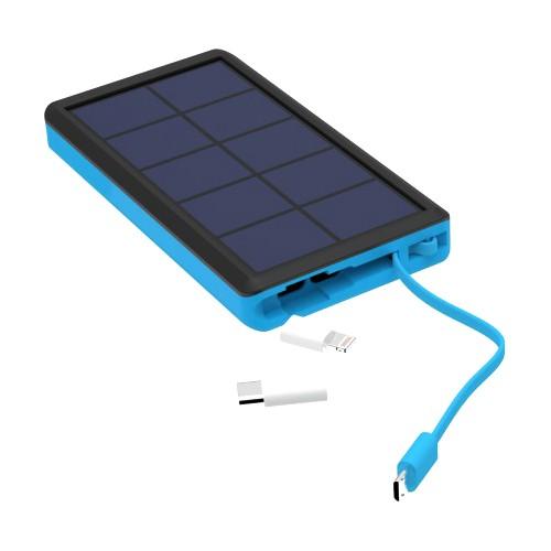 PowerBank XLayer PLUS Solar Black/Blue 10000mAh