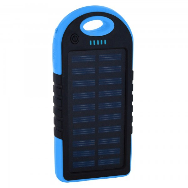 PowerBank XLayer PLUS Solar Black/Blue 4000mAh
