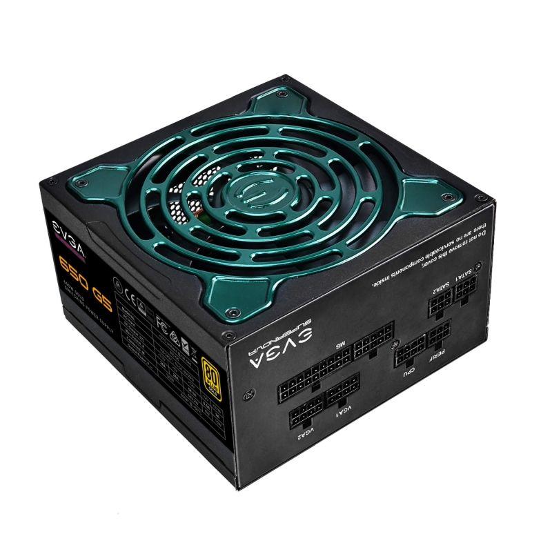 Fuente de Alimentación ATX EVGA SuperNOVA 650 G5 650W 80 Plus Gold
