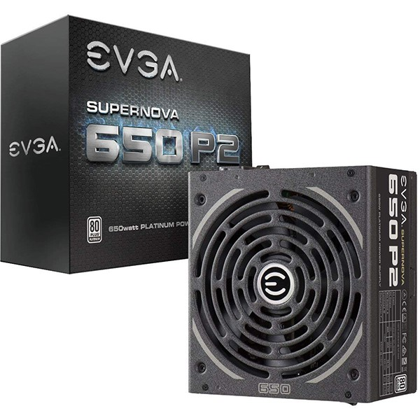 Fuente Alimentación Modular EVGA SuperNOVA 650 P2 650W 80+ Platinum