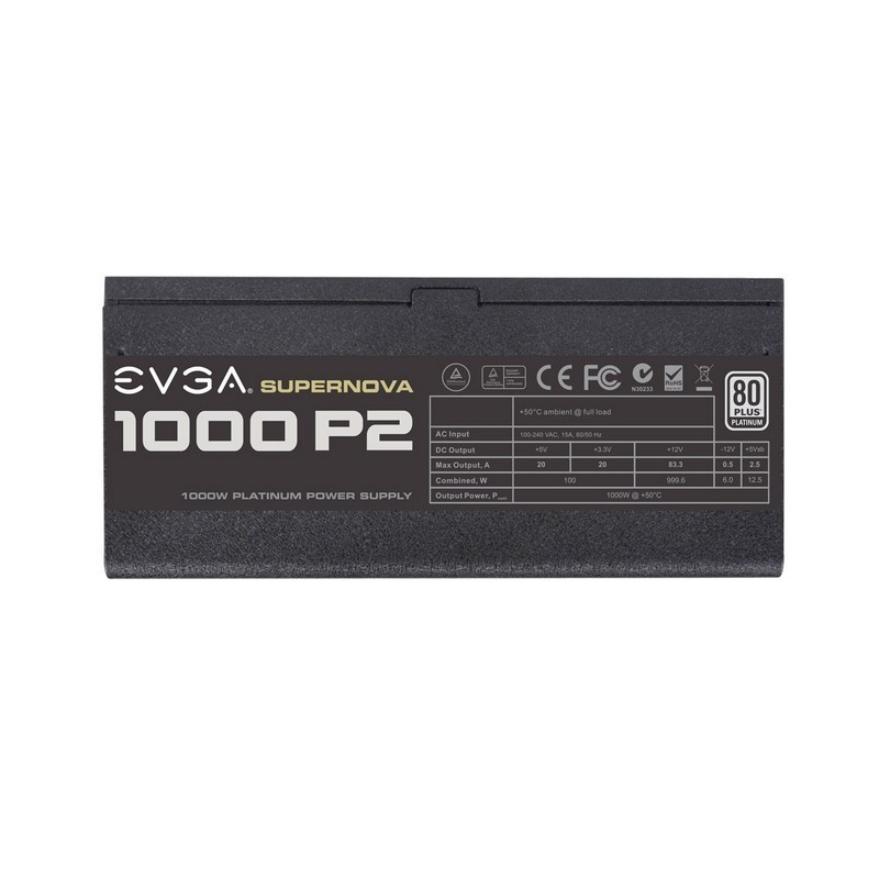 Fuente Alimentación Modular EVGA SuperNOVA 1000 P2 1000W 80 PLUS Platinum