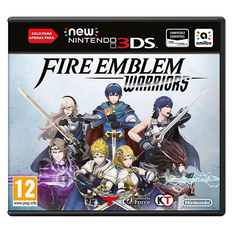 New Nintendo 3DS Juego Fire Emblem Warriors