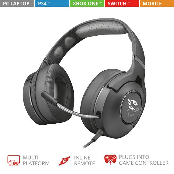 Auriculares Trust Gaming GXT 420 Rath Multiplataforma
