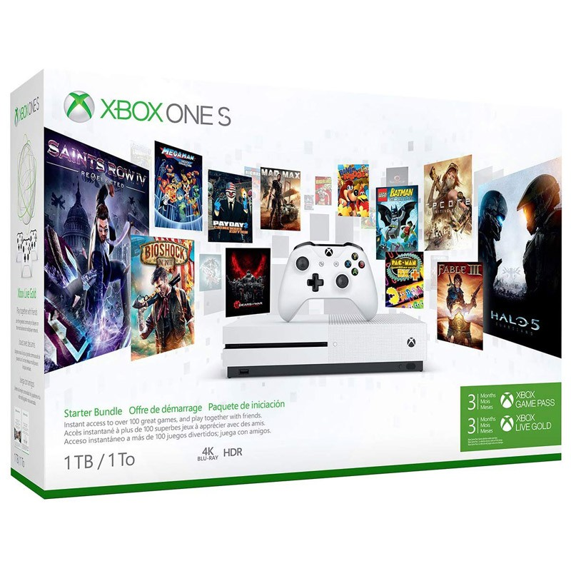 Xbox One S 1TB Starter Bundle