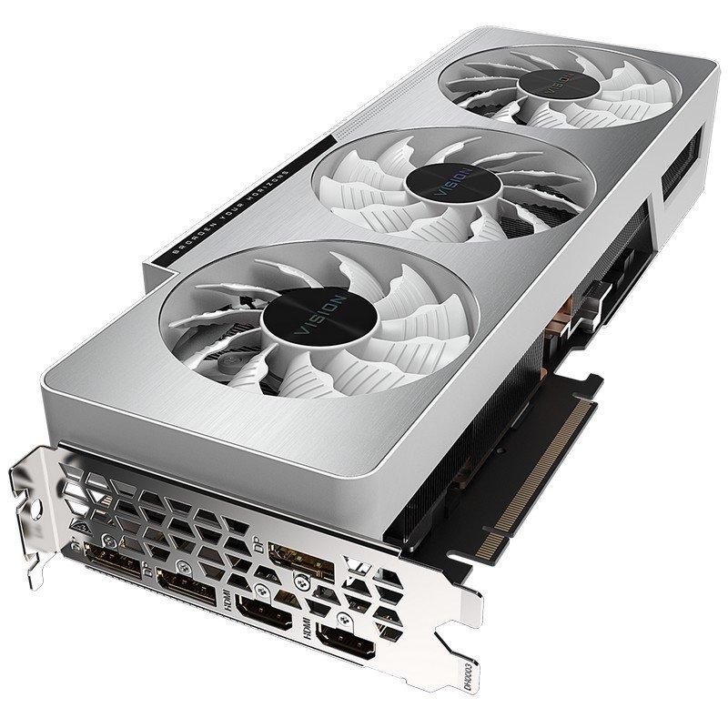 Tarjeta Gráfica Gigabyte GeForce RTX 3080 VISION OC 10GB GDDR6X