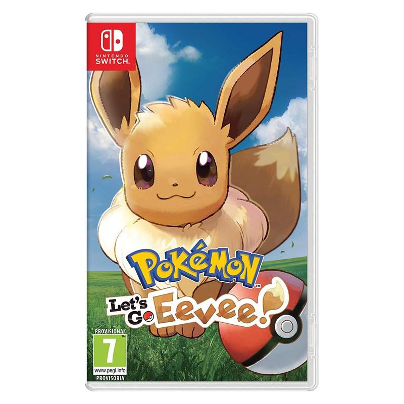 Nintendo Switch Juego Lets Go Eevee