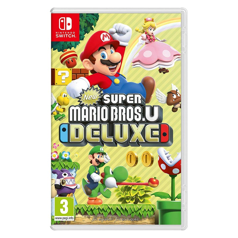 Nintendo Switch Juego New Super Mario. U Deluxe