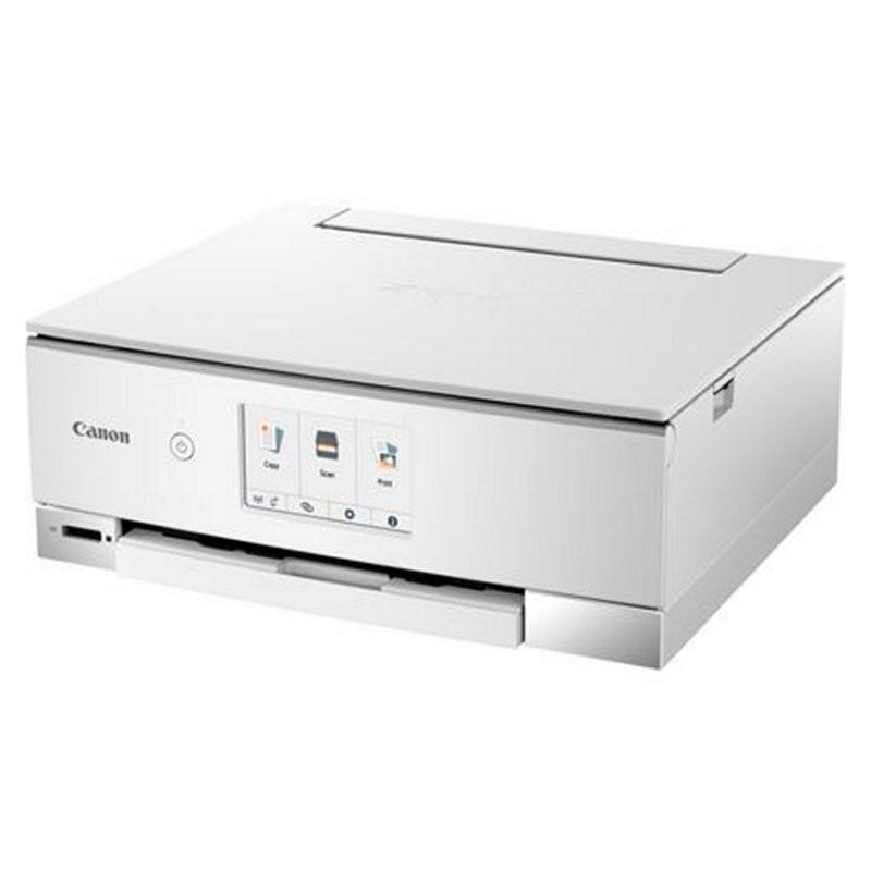 Impresora Multifunción Canon Pixma TS8251 Wifi Blanca