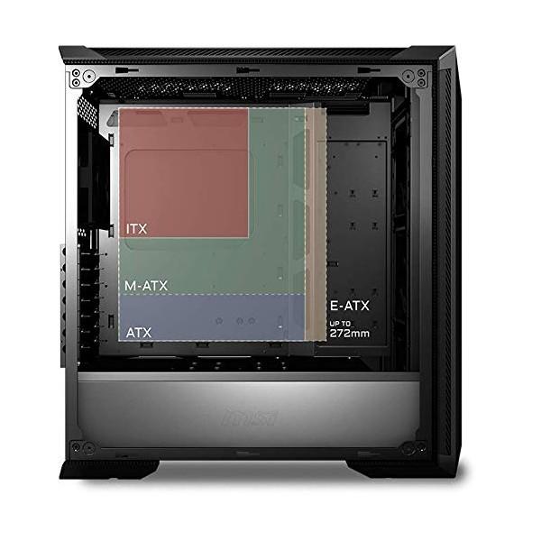 Caja PC E-ATX MSI MPG GUNGNIR 100P