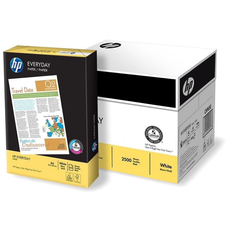 Papel Multifuncion HP Everyday DIN-A4 75g 500h (Pack 5)