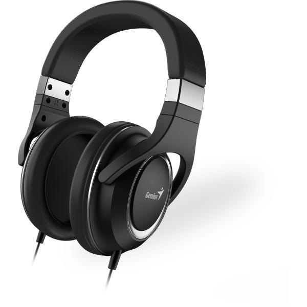 Auriculares con Micrófono Genius HS-610 Negro