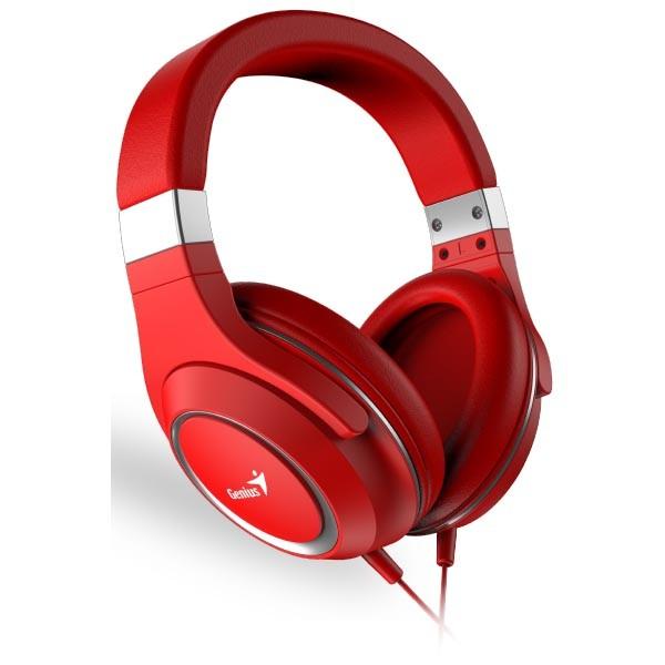 Auriculares con Micrófono Genius HS-610 Rojo