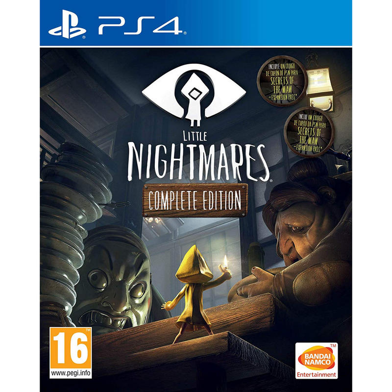 PS4 Juego Little Nightmares Complete Edition