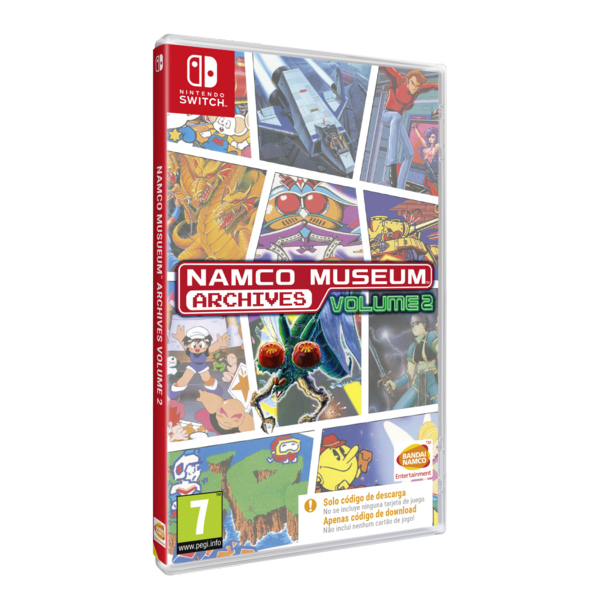 Nintendo Switch Juego Namco Museum Archives 2