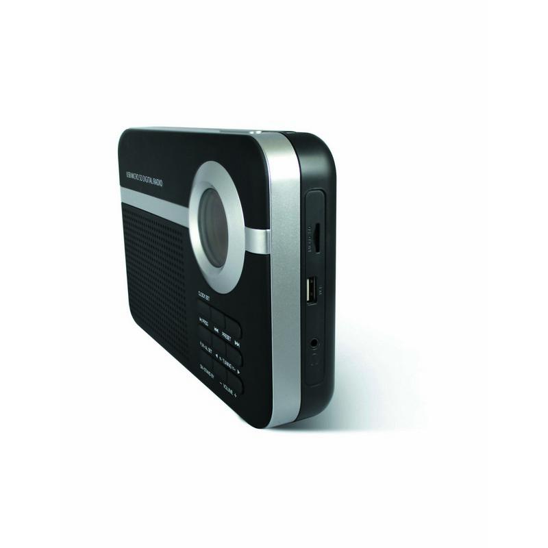 Radio Digital Schneider Handy Negro