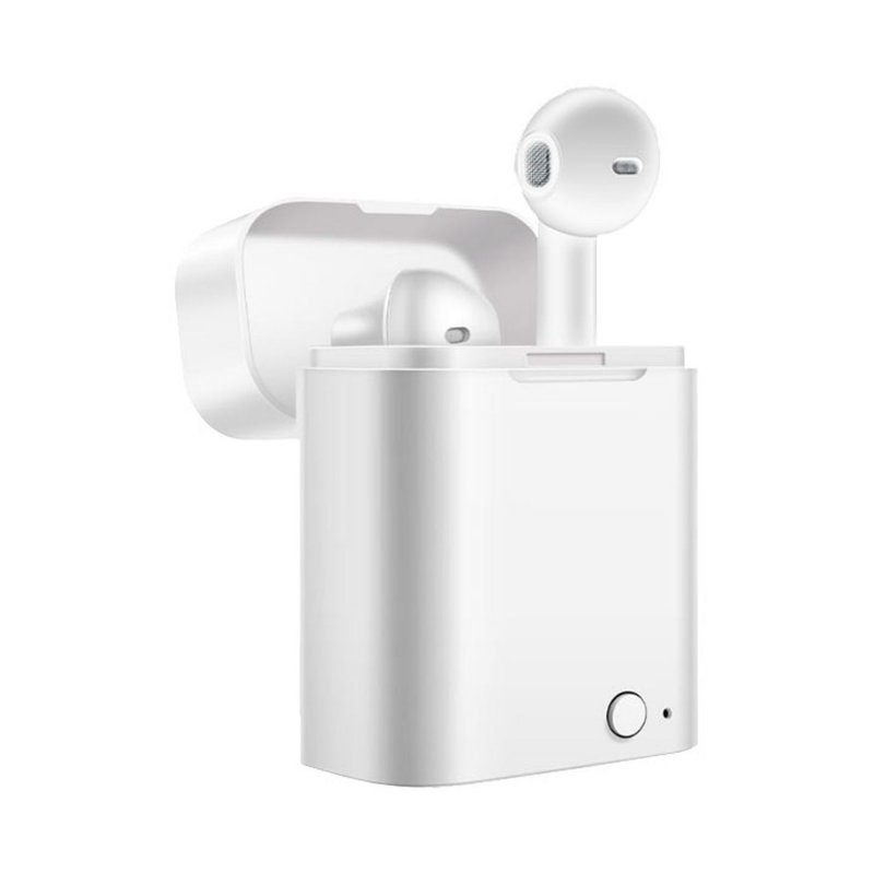 Auriculares Akashi Altwhearb Earbuds Bluetooth Blancos