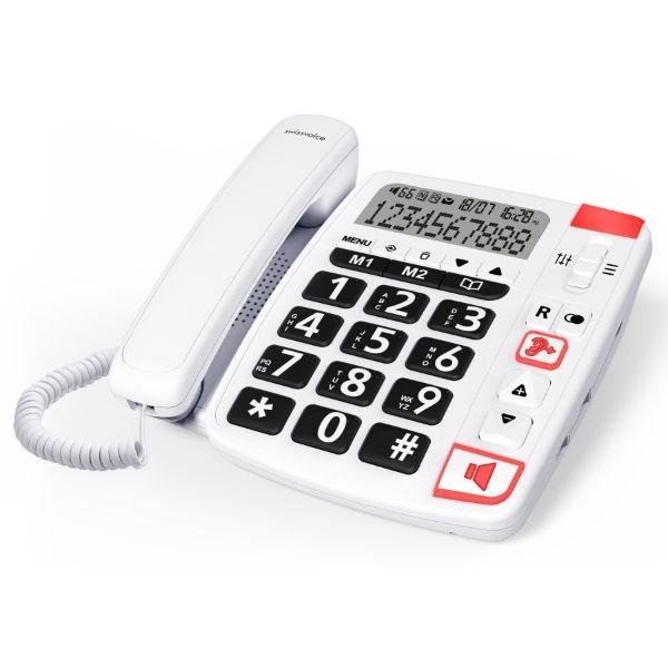 Teléfono Fijo SwissVoice XTRA11500 Blanco