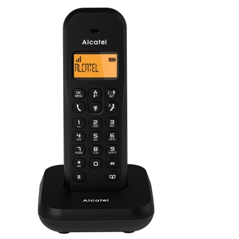 Teléfono Inalámbrico Alcatel E155 Negro